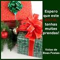Postais de Presentes de Natal