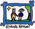 Postais de Friends Forever