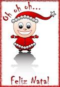 Postais de Pequeno Pai Natal